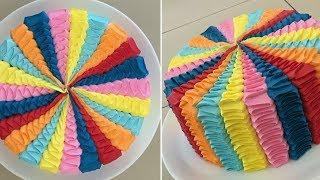 Как делают торты ручной работы