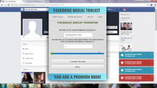 Join Multiple Facebook Groups With Facebook Group Transfer Tool