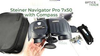 Steiner Navigator Pro 7x50 with Compass binoculars review | Optics Trade Reviews