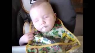 Top 10 Funny Baby Video  Baby Sleeping 2015