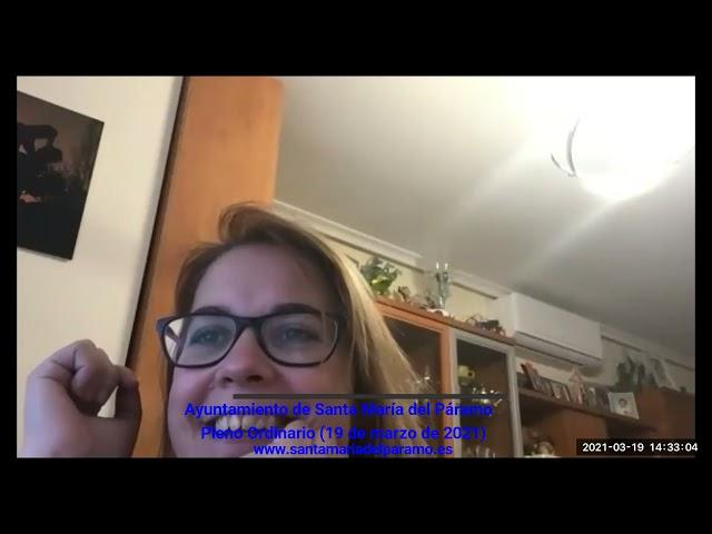 Pleno Ordinario (19/03/2021)