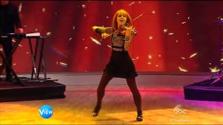 "Lindsey Stirling Performs on ""The View"""
