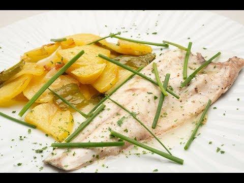 Lubina con patatas panadera - Karlos Arguiñano en tu cocina