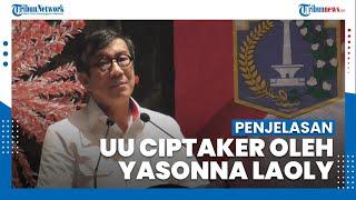 Penjelasan Menteri Hukum dan HAM Yasonna Laoly Tentang UU Cipta Kerja