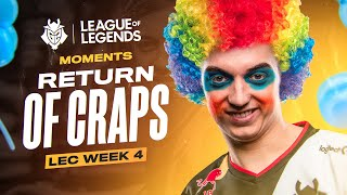 LEC : le highlight & voicecomms de la semaine 4 des G2 Esports