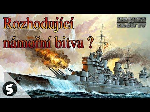 #3 - Rozhodující námořní bitva - Hearts of Iron 4 [AI ONLY]