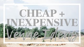 CHEAP + INEXPENSIVE Wedding Venues