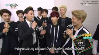 [Thaisub]150911 Music Bank Interview   UP10TION with Shinhwa Junjin