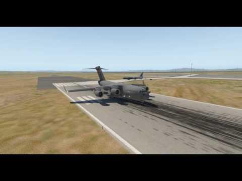 Boeing C-17 Globemaster III -- X-Plane 11 -- Travis AFB (KSUU)