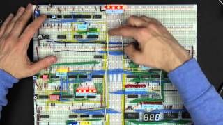 Bus architecture and how register transfers work - 8 bit register - Part 1