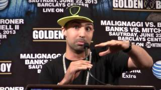 Adrien Broner vs Paulie Malignaggi CRAZY Press conference