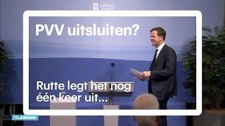 Zo kwam Rutte tot uitsluiting PVV - RTL NIEUWS