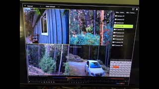 Defender Wired 1 T DVR security system with 4K cameras blogger unboxing and review