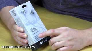 Audiofly AF45 In-Ear Headphones Unboxing & Overview