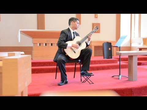 My performance at the Sierra Nevada International Classical Guitar Competition.