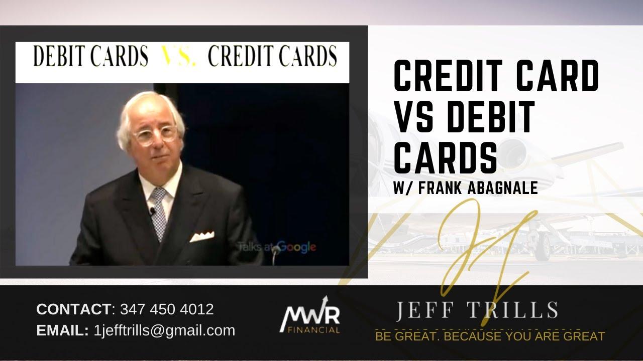 Frank Abagnale - Charge Card VS Debit Cards|Jeff Trills Jantuah|MWR Financial thumbnail