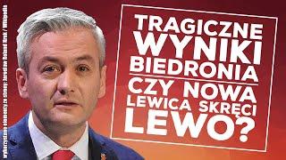 Tylko 2% poparcia dla Roberta Biedronia! Czy Nowa Lewica skręci na lewo?