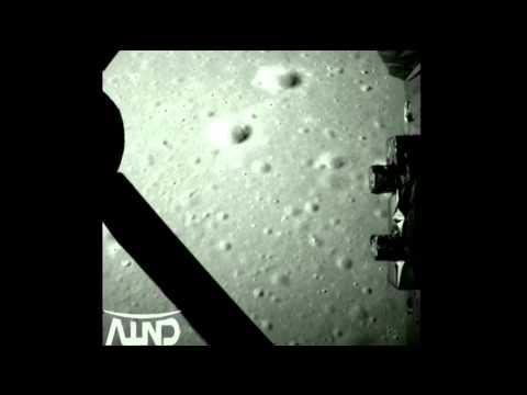 Video of Chang'e 3's descent and landing on the Moon