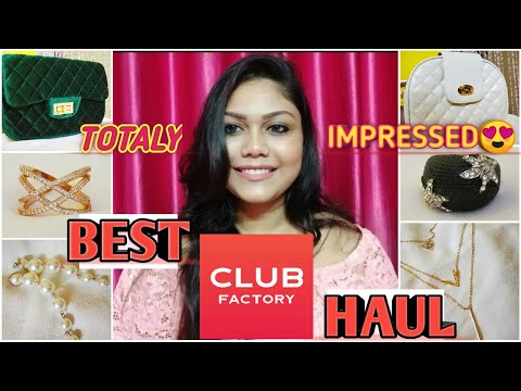 Club Factory Haul    Best Affordable Bag & Jwellery Haul    Online Shopping 2019