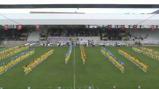 preview picture of video '23 Nisan 2011 Kız Gösteri Gurubu Gebze Stadı'