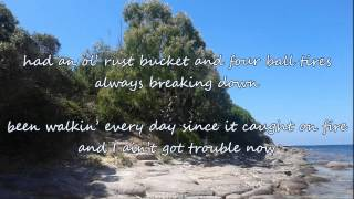 Alan Jackson - Ain't Got Trouble Now (with lyrics)