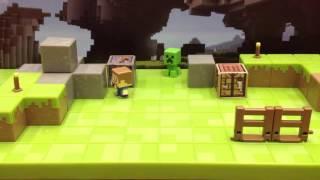 Moje umění boje v minecraftu