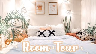 ROOM TOUR | My Small Cozy Bohemian Bedroom  | Aesthetics Pinterest  Inspired On A Budget 🌿☘️