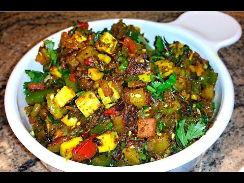Mixed Vegetables with Paneer | Mixed Sabzi Recipe