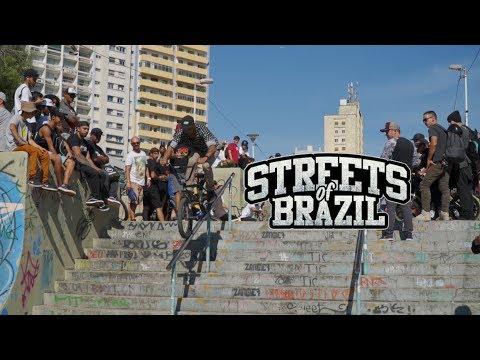 'Streets Of Brazil' A Brazilian Mega BMX Street Jam - Vídeo Oficial | Role Crew