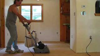 DIY 108  Refinishing Wood Floors  Sanding  Part 2 Of 3