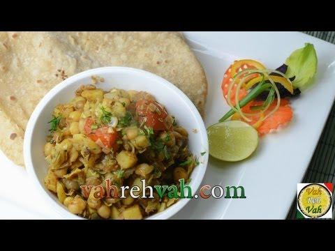 Cabbage Vatana Curry