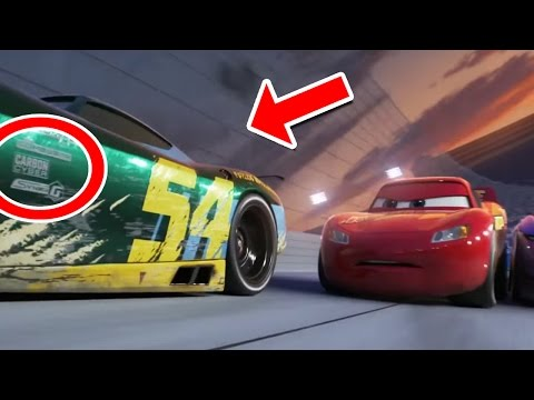 7 Increíbles Mensajes Ocultos en el Trailer de Cars 3