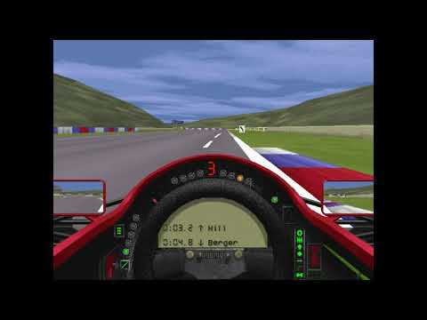 MicroProse Grand Prix 2 By Geoff Crammond Pacific Grand Prix Round 2 (F1 1994)