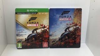 Unboxing Forza Horizon 4 Ultimate Edition Español