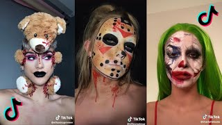 Look At This Crazy Tik Tok Halloween Makeup 👻l Tik Tok Halloween Compilation