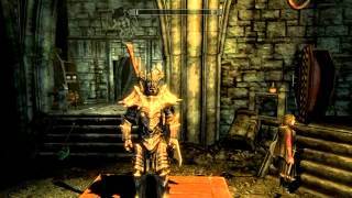 TES 5: Skyrim #Dawnguard - Где найти Роскошную Вампирскую броню.(Броня Вампирской знати)