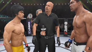 Bruce Lee Vs Muhammad Ali WHO IS THE GREATEST!?! | EA Sports UFC 3