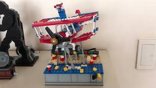 Action stand for LEGO 31076 Daredevil Stunt Plane