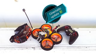 #diatonetaycan #cinewhoop #fpv Update Cinematic family, Test flight-Diatone Taycan 6s