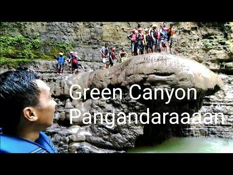 Video Batu Payung Cukang Taneuh / Green Canyon Pangandaran Ciamis Jawa Barat Indonesia