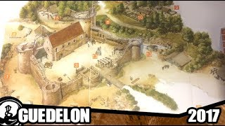 Guedelon 2017 - A construction of a castle