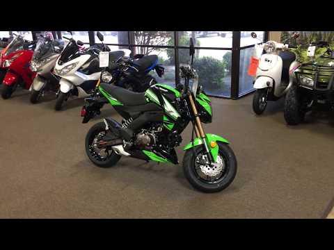 2018 Kawasaki Z125 Pro KRT Edition in Murrieta, California