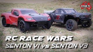 RC RACE WARS: Senton V1 vs Senton V3