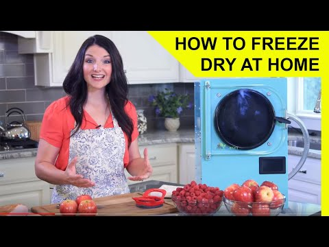 , title : 'How to Freeze Dry at Home - Harvest Right Freeze Dryer Overview