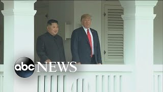 'Very, very good:' Trump says of his meeting with Kim Jong Un