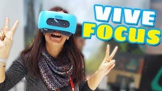 PROBAMOS HTC VIVE FOCUS | Características y Primeras Impresiones
