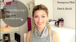 JAK NA TO: Holandský cop/HOW TO: Dutch Braid | Kateřina Bartková