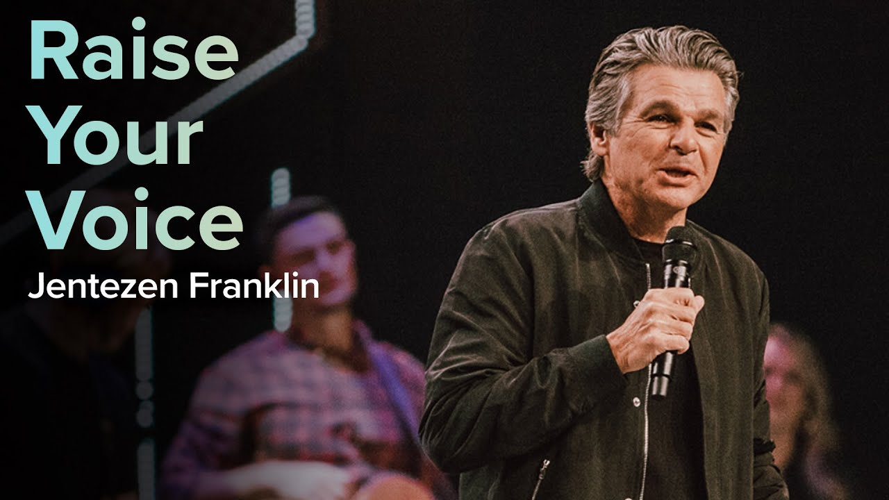 Raise Your Voice  by  Pastor Jentezen Franklin