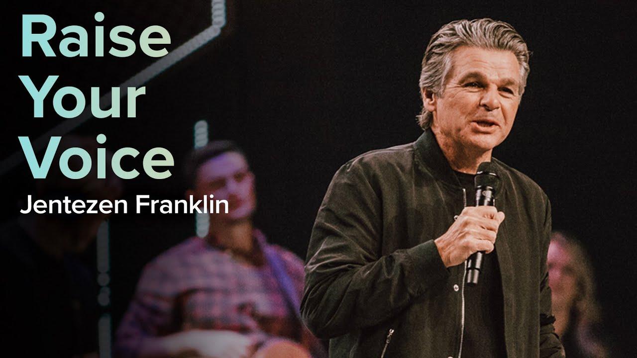 Raise Your Voice  by  Pastor Jentezen Franklin
