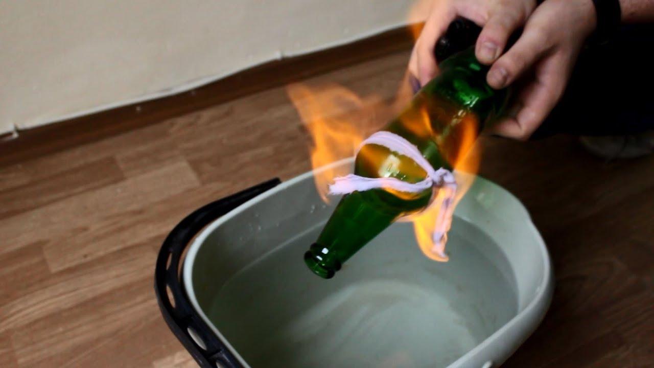 Как да срежем стъклена бутилка / How to cut glass bottle for 30 seconds